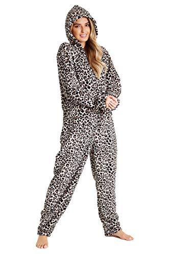 CityComfort Pijamas Mujer, Mono para Mujer Estampado Leopardo Cosplay Disfraces, Pijama Mujer...