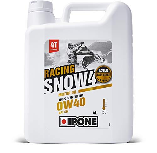 Ipone 800183Aceite Motor Snow 4Racing 4T Tiempo Performance 0W40motonieve