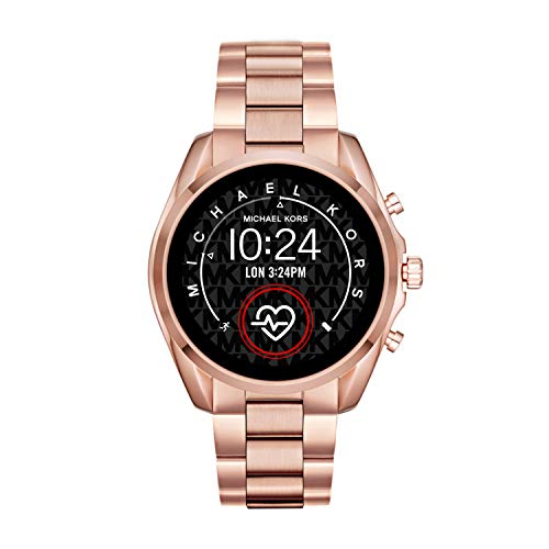 Micheal Kors Connected Smartwatch con tecnología Wear OS de Google, altavoz, frecuencia cardíaca,...
