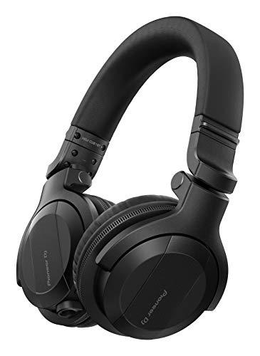 Pioneer DJ HDJ-CUE1BT-K, DJ Auriculares con Bluetooth, Negro