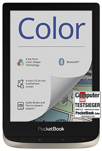 PocketBook E-Ink Kaleido - Lector de Libros electrónicos (16 GB de Memoria, Pantalla a Color de 6',...