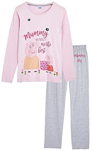 Peppa Pig Pijamas Mujer, Ropa de Mujer para Dormir, Pijama Dos Piezas Pepa Pig, Conjunto de Camiseta...