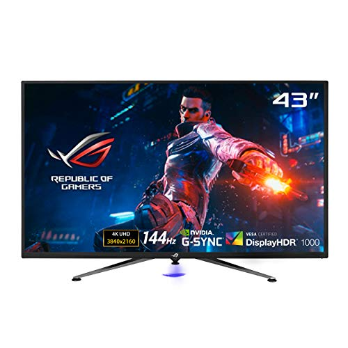 Asus ROG Swift PG43UQ - Monitor de Gaming DSC de 43' (4K UHD (3840 x 2160), 144 Hz, G-Sync...
