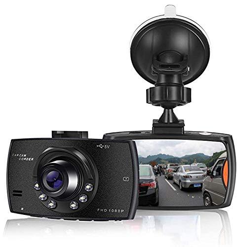 SOOTEWAY Cámara de Coche 1080P Full HD Dash CAM 2.4 Pulgada LCD Conducir Grabadora 170°Ángulo con...