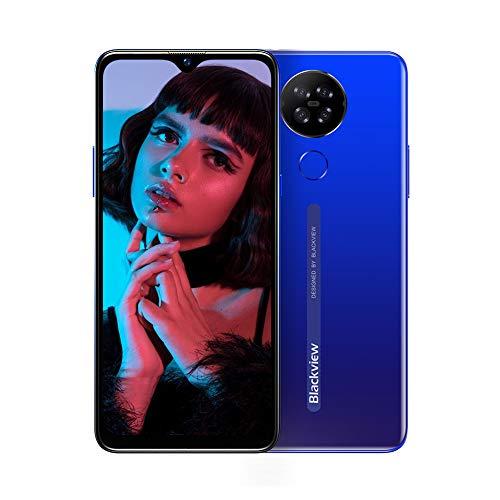 Moviles Libres 4G, Blackview A80 Smartphone Libre Android 10 GO con Cámara Trasera Cuádruple 13MP,...