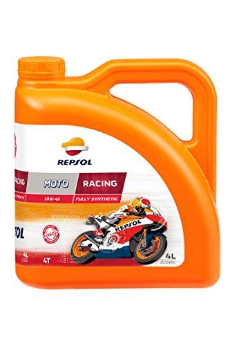 REPSOL Moto Racing 4T 5W-40 Aceite De Motor Para Moto, 4L