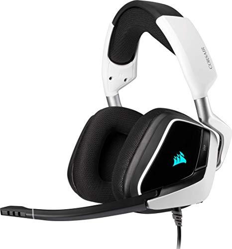 Corsair Void Elite RGB USB Auriculares para Juegos (7.1 Sonido Envolvente, Micrófono...