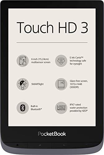PocketBook Touch HD 3 - Lector de Libros electrónicos (16 GB de Memoria, Pantalla de 6 Pulgadas,...
