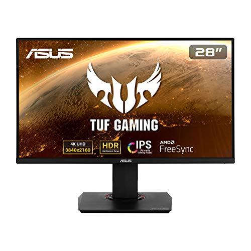 Asus TUF Gaming VG289Q - Monitor Gaming de 28' 4K (3840x2160, IPS, DCI-P3 , 60 Hz, 5 ms, LED,...
