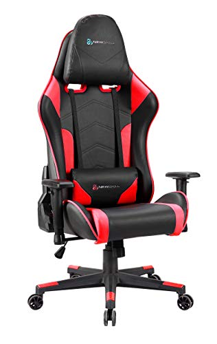 Newskill Kitsune - Silla gaming profesional (Inclinación y altura regulable, reposabrazos 2D...