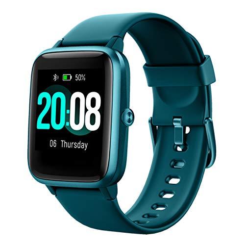 LIFEBEE Smartwatch, Reloj Inteligente Impermeable IP68 para Hombre Mujer niños, Pulsera de...