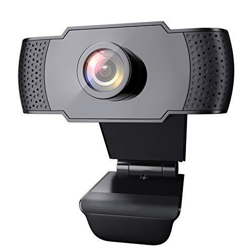 Wansview Webcam PC Full HD 1080P con Micrófono, Webcam Portátil para PC, Webcam USB 2.0, Streaming...