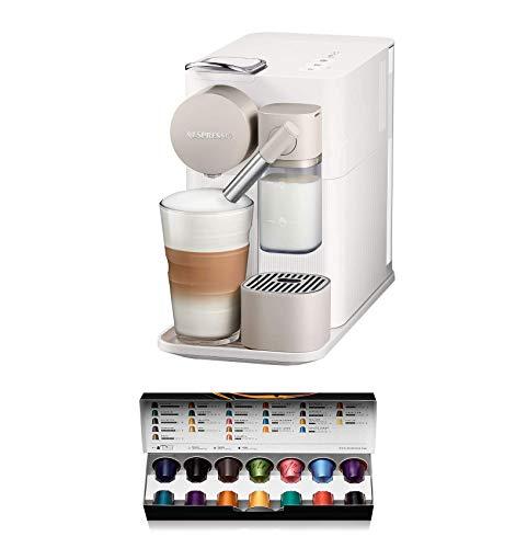 De'Longhi Nespresso Lattissima One EN500W-Cafetera monodosis de cápsulas Nespresso con depósito de...