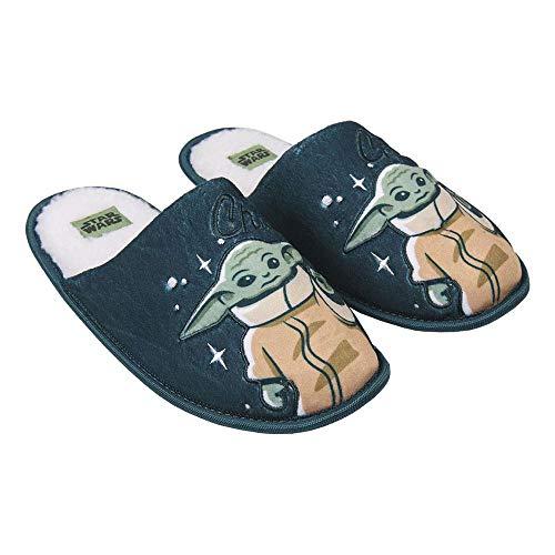 CERDÁ LIFE'S LITTLE MOMENTS Zapatillas de Casa Abiertas Hombre The Mandalorian-Licencia Oficial...