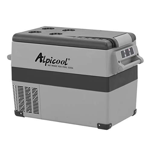 Alpicool CF45 45 Litros Nevera Portátil Eléctrica Refrigerador de Coche 12V 24V mini frigorífico...