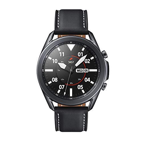 SAMSUNG SM-R840NZKAEUB Galaxy Watch3 - Reloj inteligente de 45 mm, Bluetooth, Acero, Color Negro,...