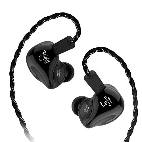OPAKY - Auriculares in-Ear híbridos HiFi-DJ sin micrófono, para iPhone, iPad, Samsung, Huawei,...
