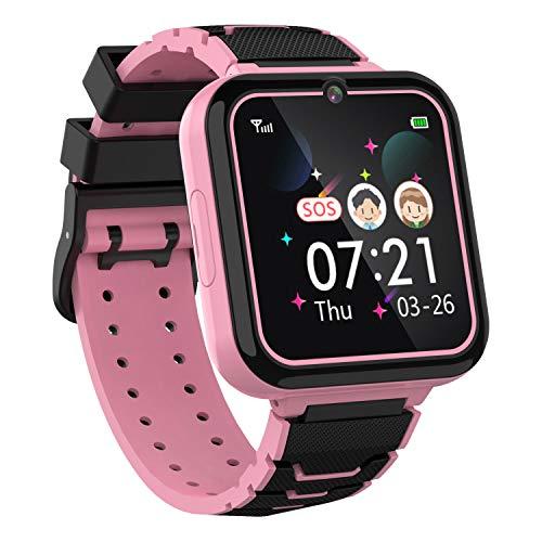 Moweallarge Teléfono Smartwatch para Niños Niñas - Pantalla Táctil de 1.57'' con Llamada...