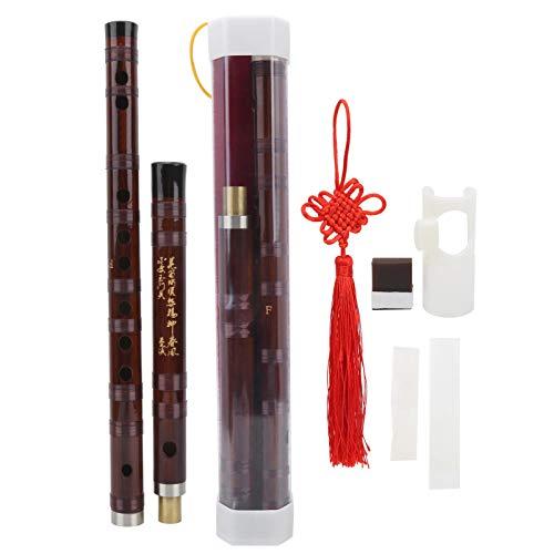 Instrumento musical chino portátil, flauta de bambú Dizi, para canciones populares...