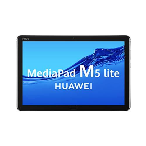 HUAWEI MediaPad M5 Lite - Tablet de 10.1\' (Wifi, RAM de 4GB, ROM de 64GB, Android 8.0) - Color Gris