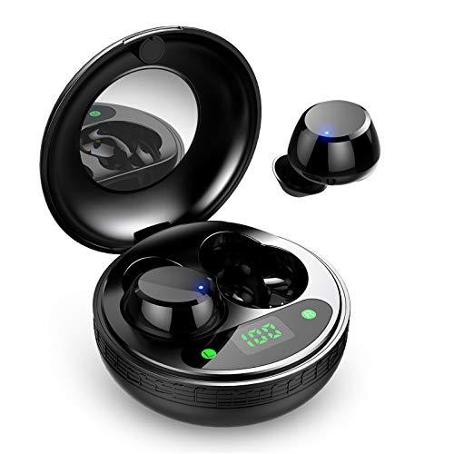 Auriculares Inalambricos, Auriculares Bluetooth 5.0 [Ligero] Sonido Estéreo Mini Twins In-Ear...
