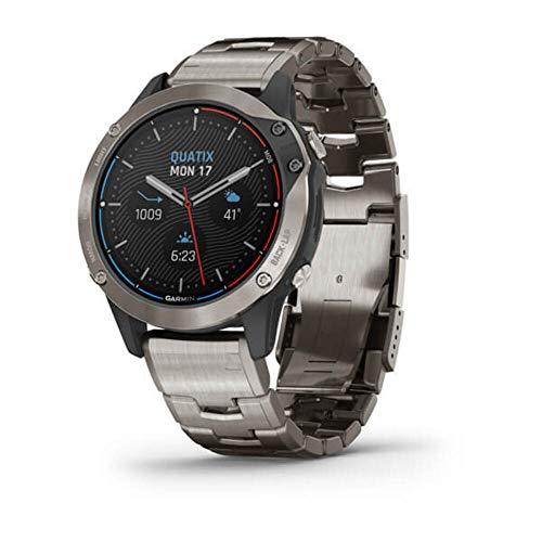 Reloj Garmin QUATIX 6 Titanio 010-02158-95