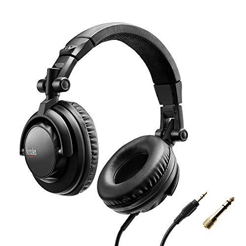Hercules HDP DJ45: Auriculares cerrados para DJ. Plegables, pivotantes, cable de 2 metros. Diseño...