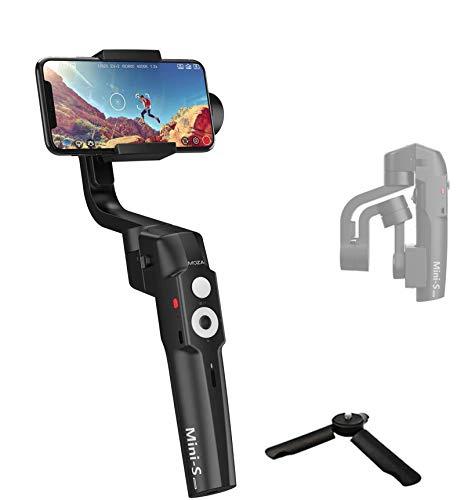 MOZA Mini S Estabilizador Para iPhone/3 Axis Estabilizador Smartphone Gimbal Plegable Extensible
