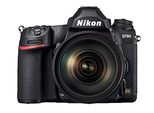 Nikon D780 - Cámara Reflex DSLR de 24.5 MP Negro - Kit Cuerpo con Objetivo 24/120 mm F4G VR