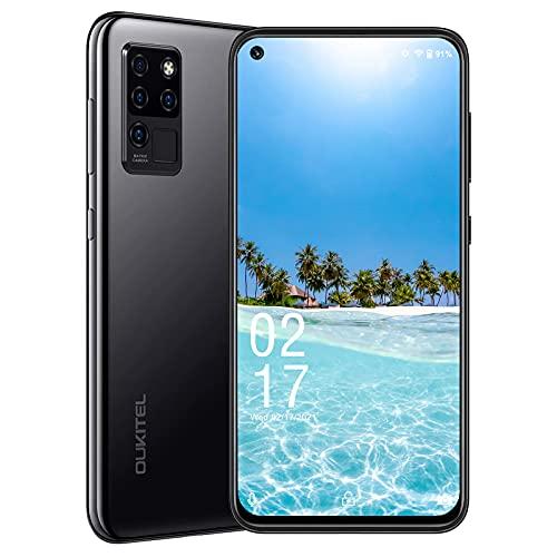Teléfono móvile Libre 4G, teléfono Celular OUKITEL C21 con Pantalla Perforada desbloqueada,...
