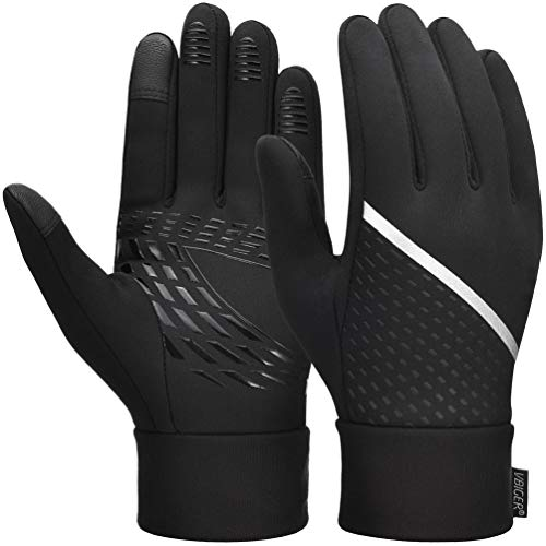 VBIGER Thickened Winter Gloves Touch Screen Gloves Cold Weather Gloves with Anti-slip Silicone and...