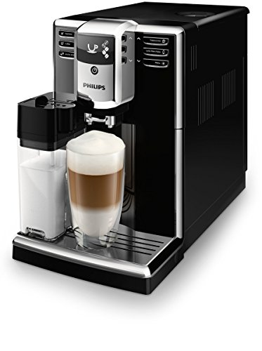 Philips Serie 5000 EP5360/10 - Cafetera Súper Automática, 6 Bebidas de Café, Jarra de Leche...