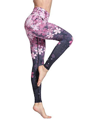 FLYILY Mallas Deportivas Mujer Pantalones impreso Leggings Deportes para Running Yoga Fitness...