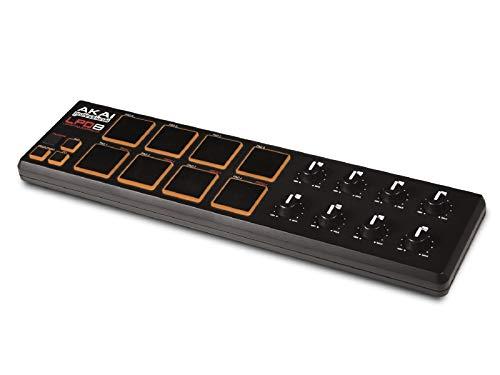 AKAI Professional LPD8 - Controlador USB MIDI portátil con 8 pads y potenciómetros, para cualquier...