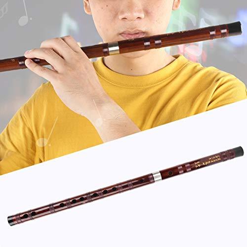 Flauta de bambú Dizi, instrumento musical chino tradicional hecho a mano con llave F, para...