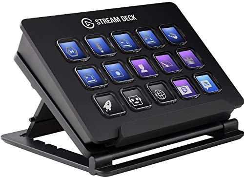 Elgato Stream Deck - Controlador para contenido en directo, 15 teclas LCD personalizables, soporte...