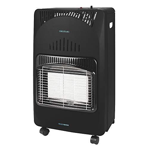 Cecotec Estufa de Gas butano Ready Warm 4000 Slim Fold. Estufa Plegable, 4200 W, Cerámica, 3 Modos,...