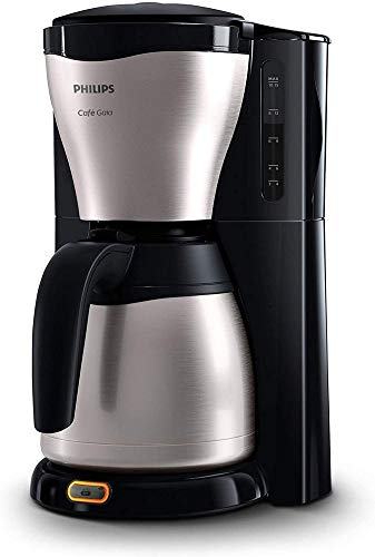 Philips HD7546/20 - Cafetera de goteo café Gaia, 1000 W, jarra térmica con capacidad para 10-15...