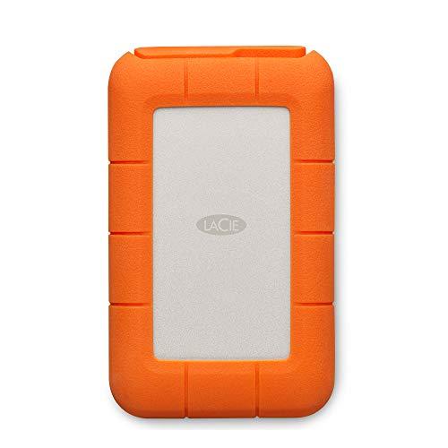 LaCie Rugged, USB-C, 4 TB, Disco duro externo, HDD portátil, USB 3.0, unidad resistente a caídas,...
