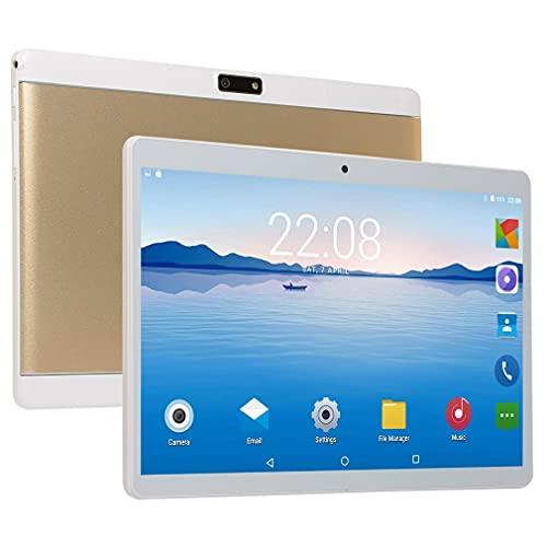 Nrew 10.1 Pulgadas Notebook Laptop Tabletas Android WiFi Computadora GPS Teléfono Oro EE. UU.
