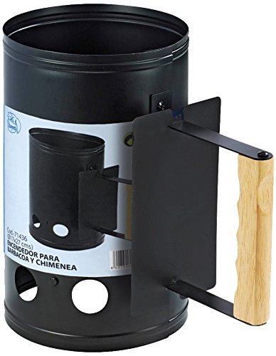 IMEX EL ZORRO 71436-Encendedor Chimenea 17x27 cms con Mango atornillado y puño de Madera....