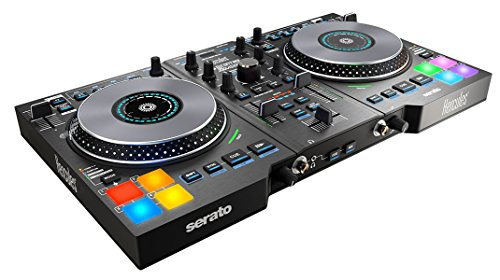Hercules Control Jogvision - Controlador de DJ, color negro