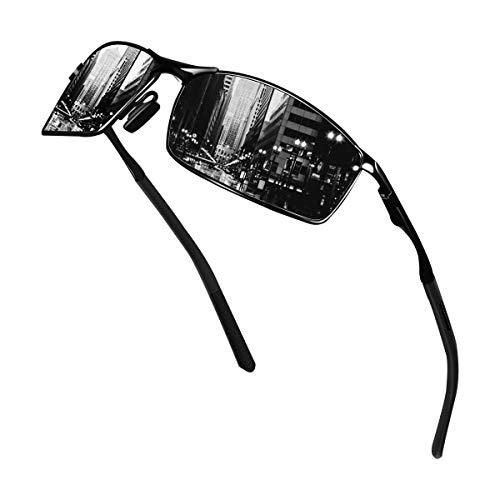 Sunmeet Gafas de Sol Hombre Polarizadas Deportes 100% Protección UV Gafas de sol para Hombre...