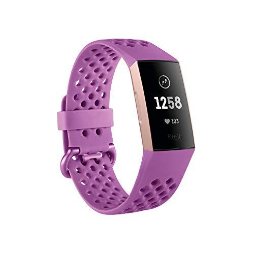 Fitbit Charge 3 Pulsera Avanzada de Salud y Actividad física, Unisex-Adult, Deportiva En Color...