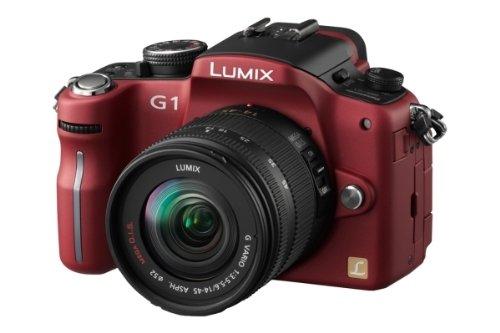 Panasonic Lumix DMC-G1K - Cámara Réflex Digital 13.1 MP (Objetivo LUMIX G Vario 14-45mm/F3.5-5.6...