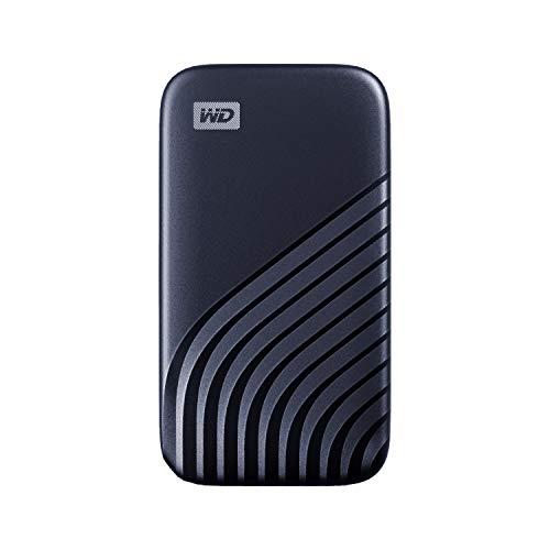 WD My Passport SSD 2TB - tecnología NVMe, USB-C, velocidad de lectura hasta 1050MB/s & de escritura...