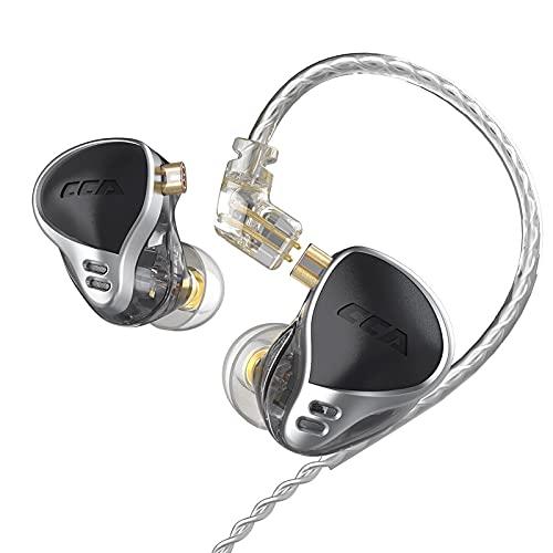 Auriculares con cable, CCA CA24 armadura equilibrada unidades HIFI Bass DJ monitor intrauditivo...
