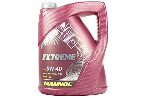 MANNOL 42550400500 Extreme 5W40 SL/CF, 5 l