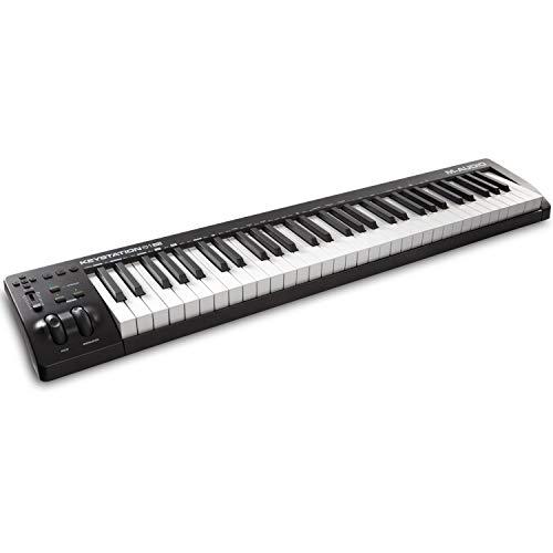 M-Audio Keystation 61MK3 - Teclado Controlador MIDI Compacto de 61 teclas con controles asignables,...