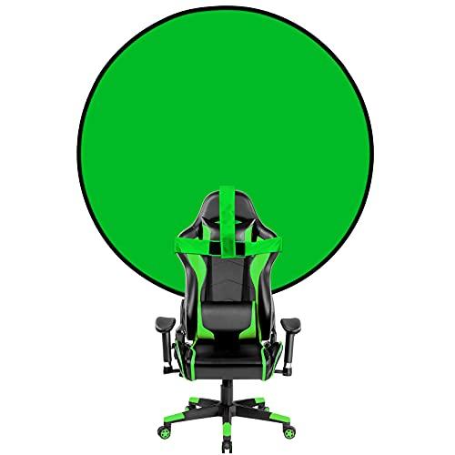 Greenscreen Rollup, fondo fotográfico, fondo Chromakey, plegable, listo para trabajar, fondo para...